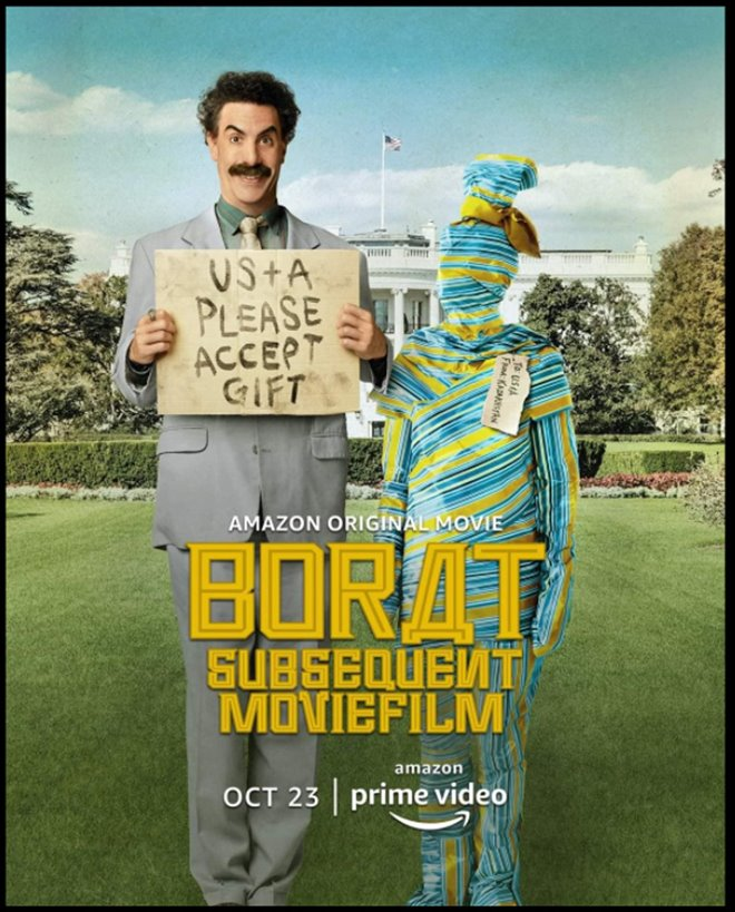 Borat Subsequent Moviefilm (Amazon Prime Video) Large Poster