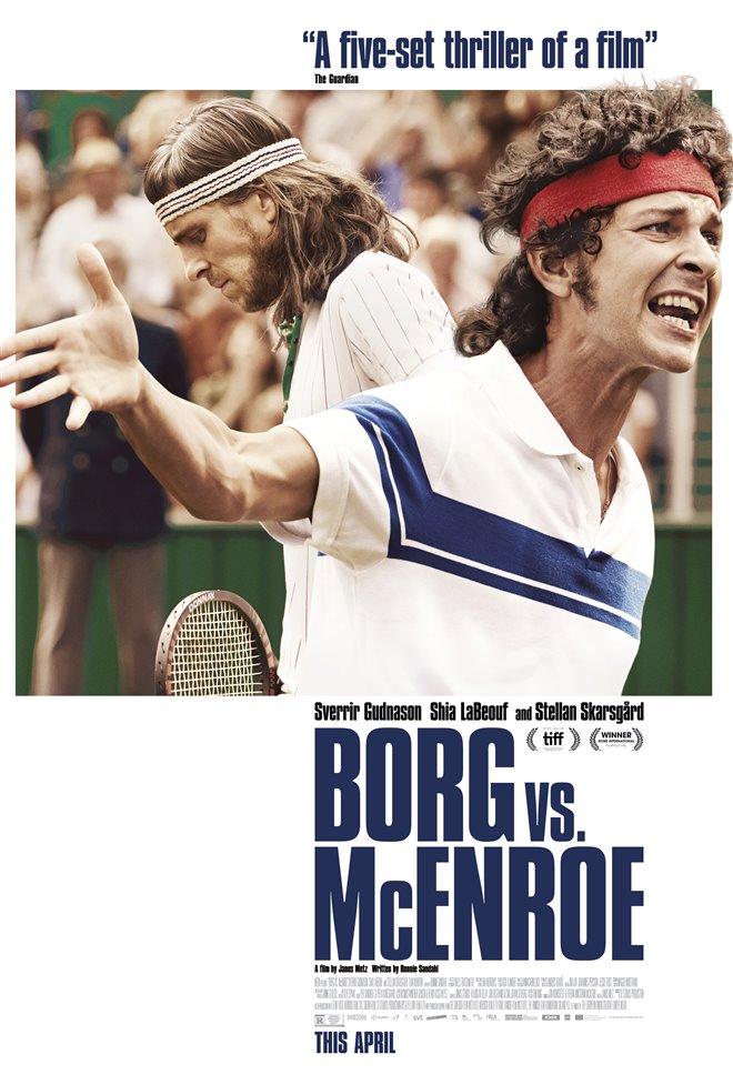 Borg vs. McEnroe Large Poster