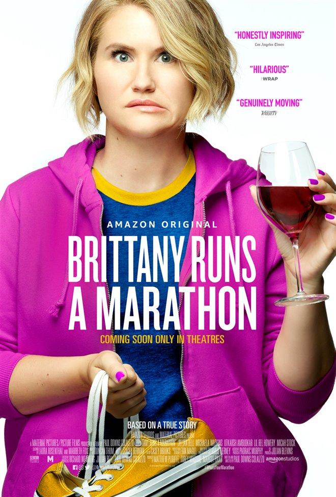 Brittany Runs a Marathon Large Poster