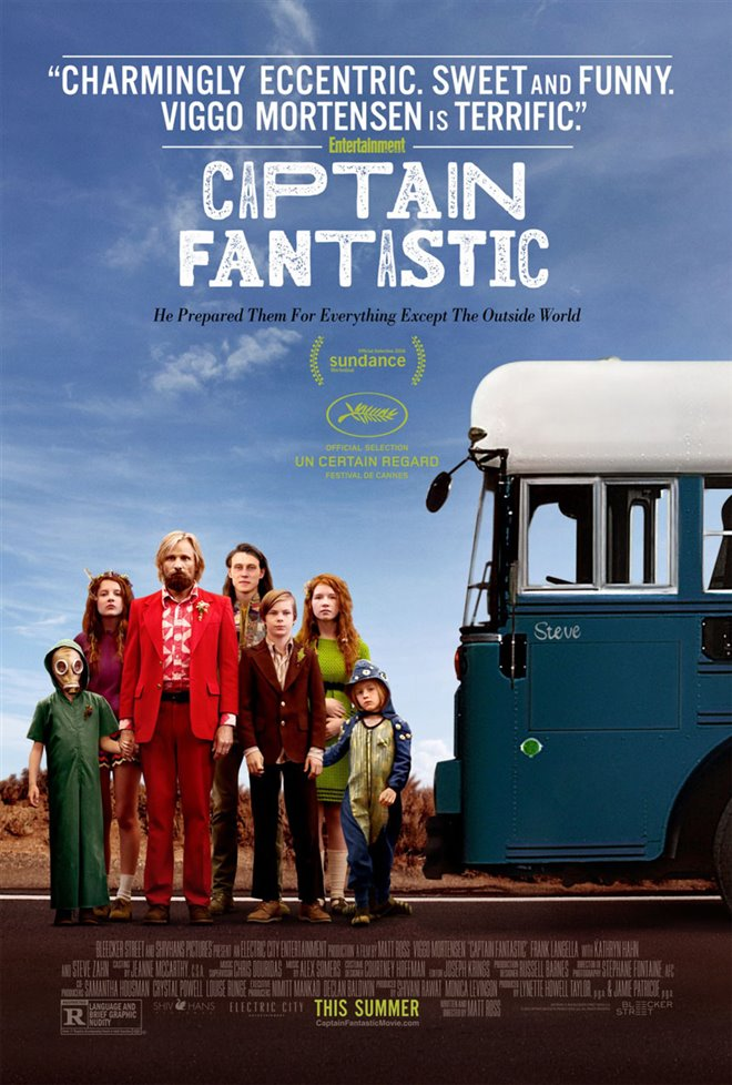 Captain Fantastic Large Poster