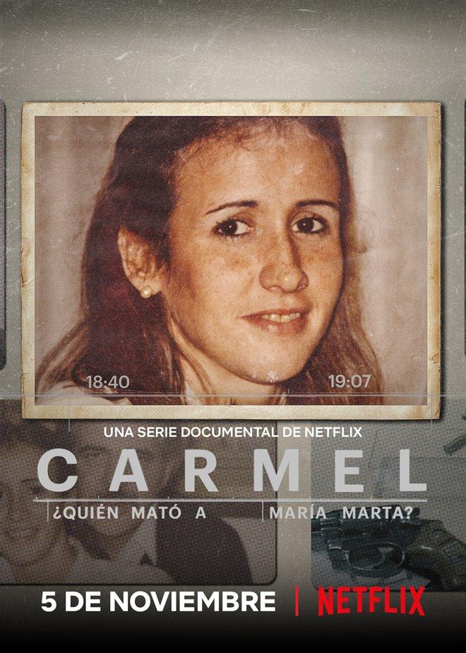 Carmel: Who Killed Maria Marta? (Netflix) Large Poster