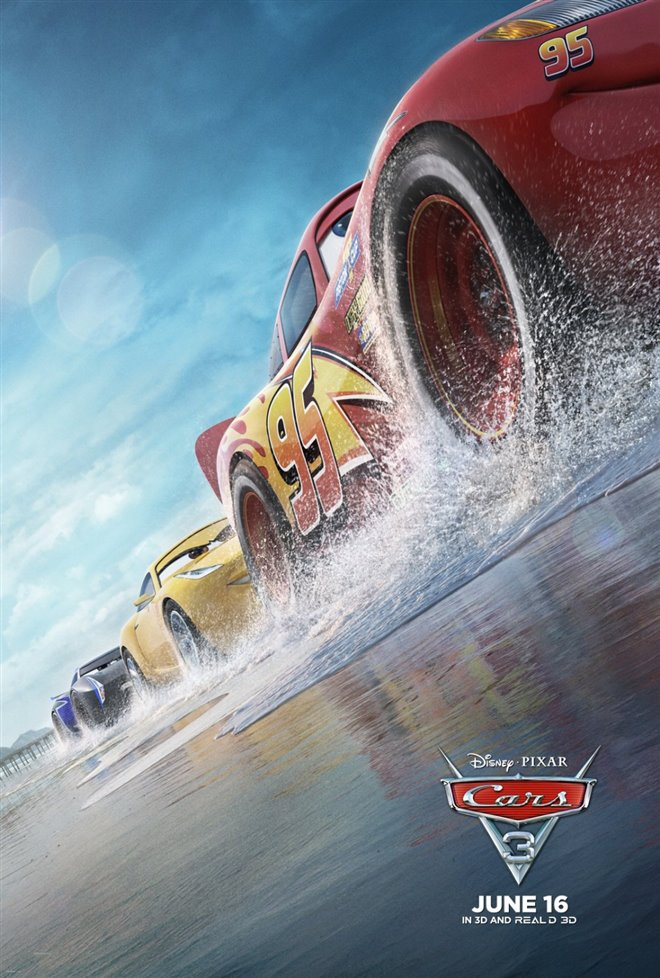 Cars 3 Large Poster