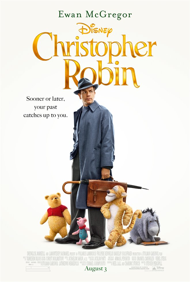 Christopher Robin Large Poster