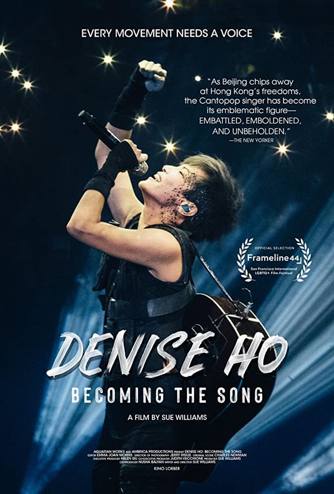 Cinematheque at Home: Denise Ho: Becoming the Song Large Poster