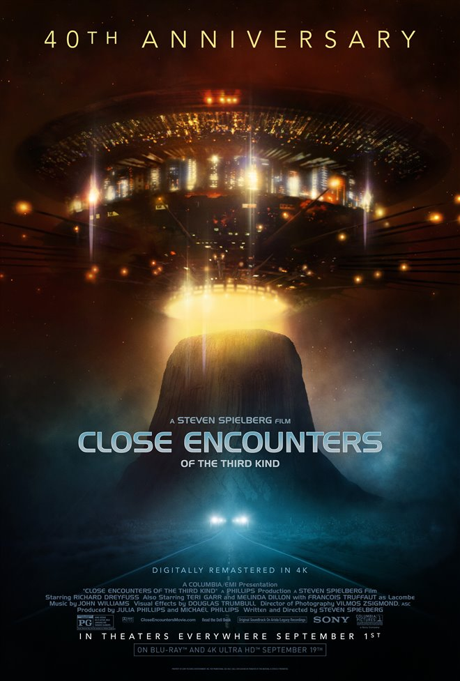 Close Encounters of the Third Kind - 40th Anniversary Large Poster
