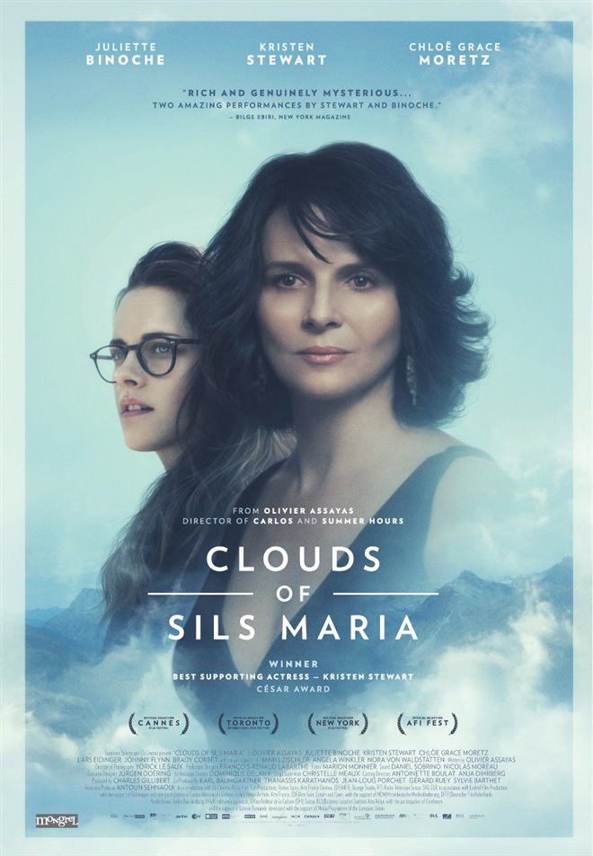 Clouds of Sils Maria Large Poster