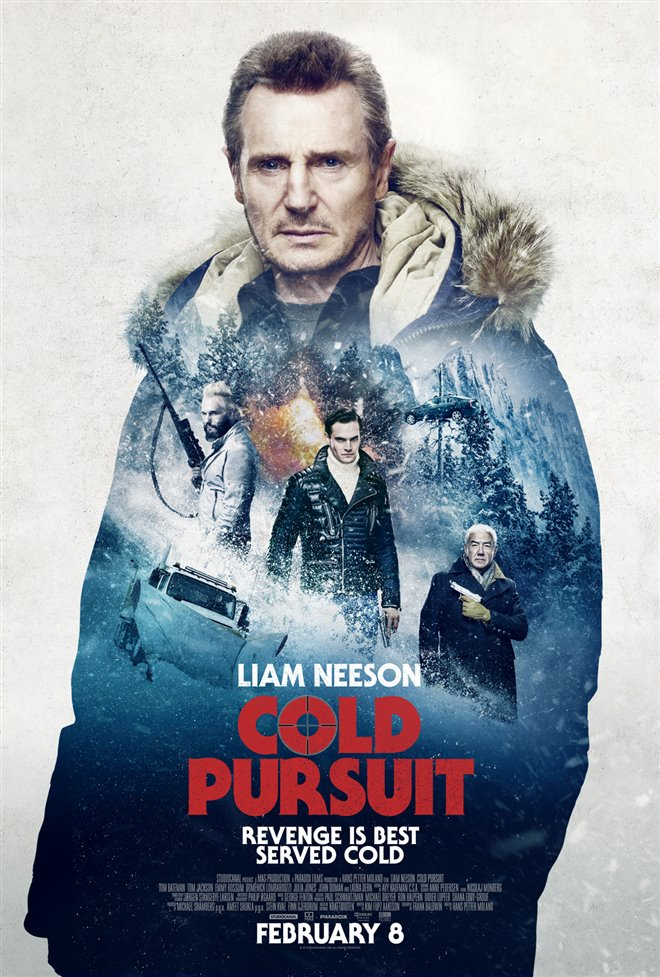 Cold Pursuit Large Poster
