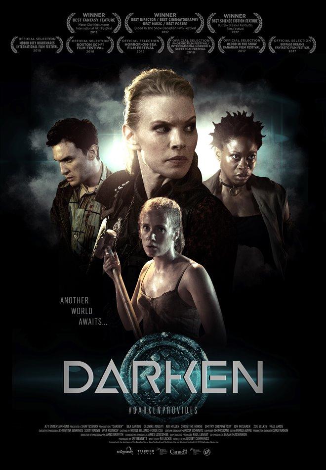 Darken Large Poster