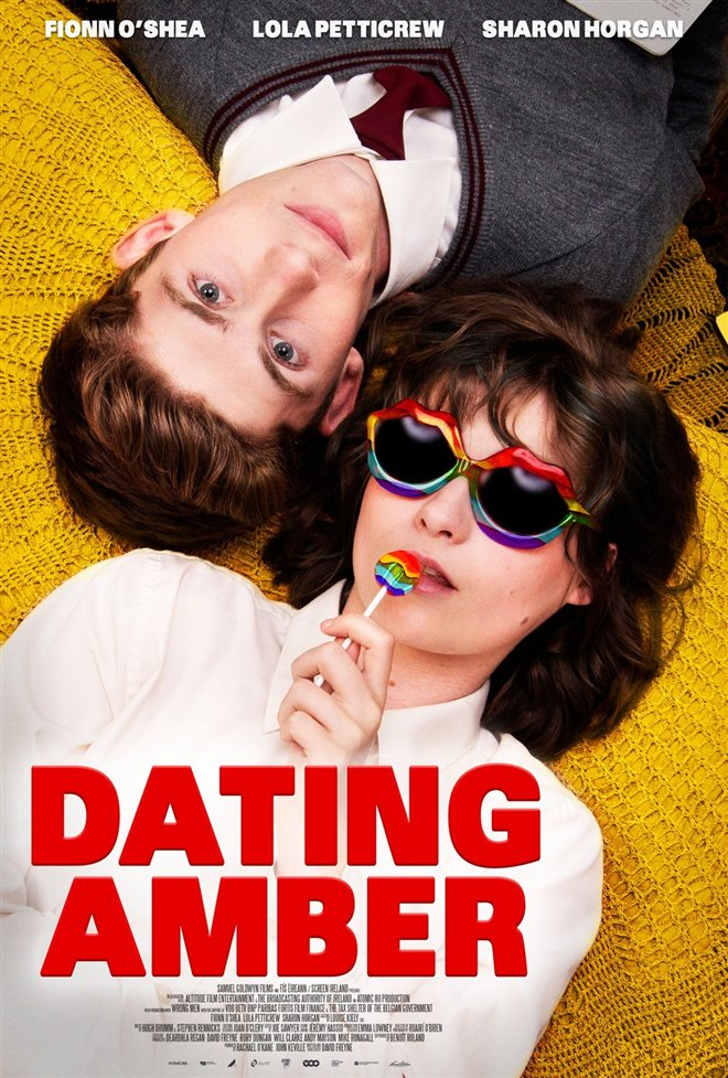 Dating Amber Large Poster
