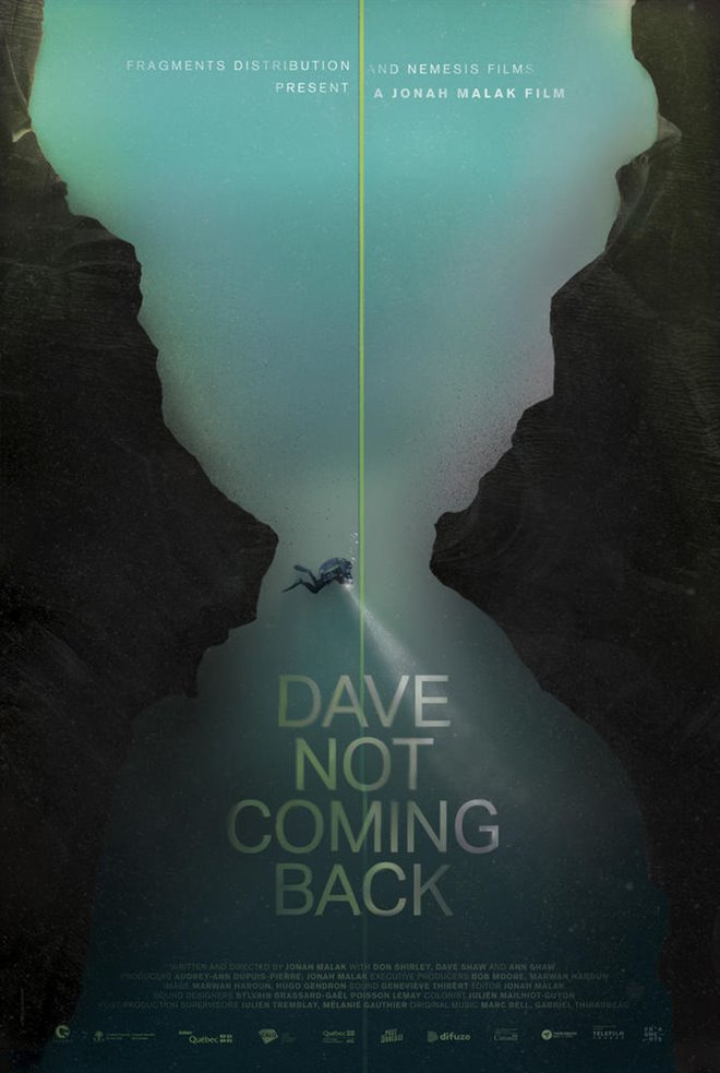 Dave Not Coming Back Large Poster