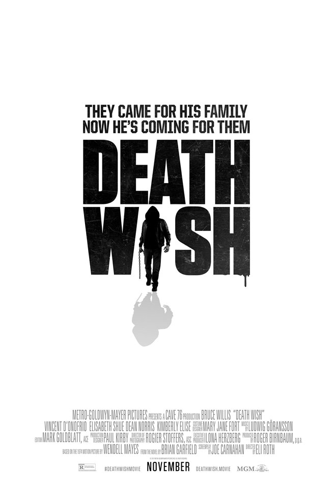Death Wish Large Poster