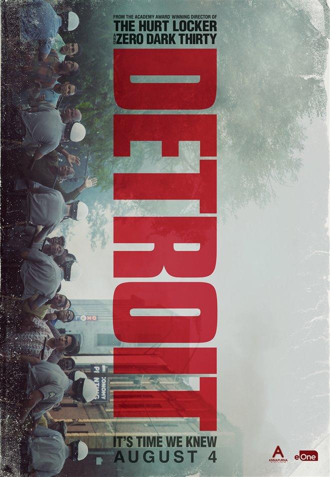 Detroit Large Poster