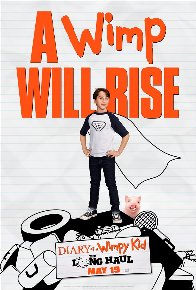 Diary of a Wimpy Kid: The Long Haul Large Poster