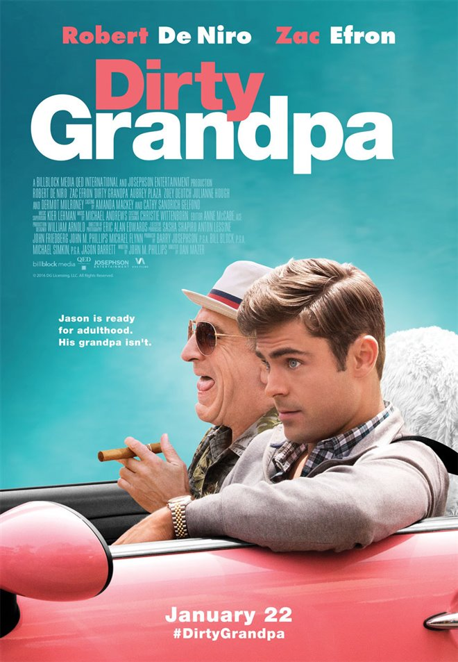 Dirty Grandpa Large Poster