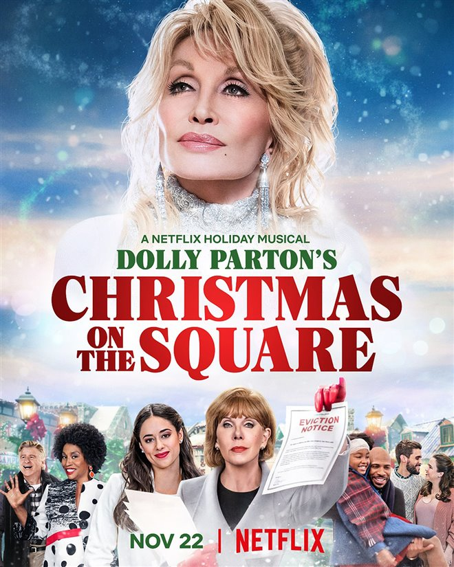 Dolly Parton's Christmas on the Square (Netflix) Large Poster