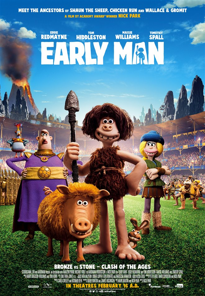 Early Man Large Poster