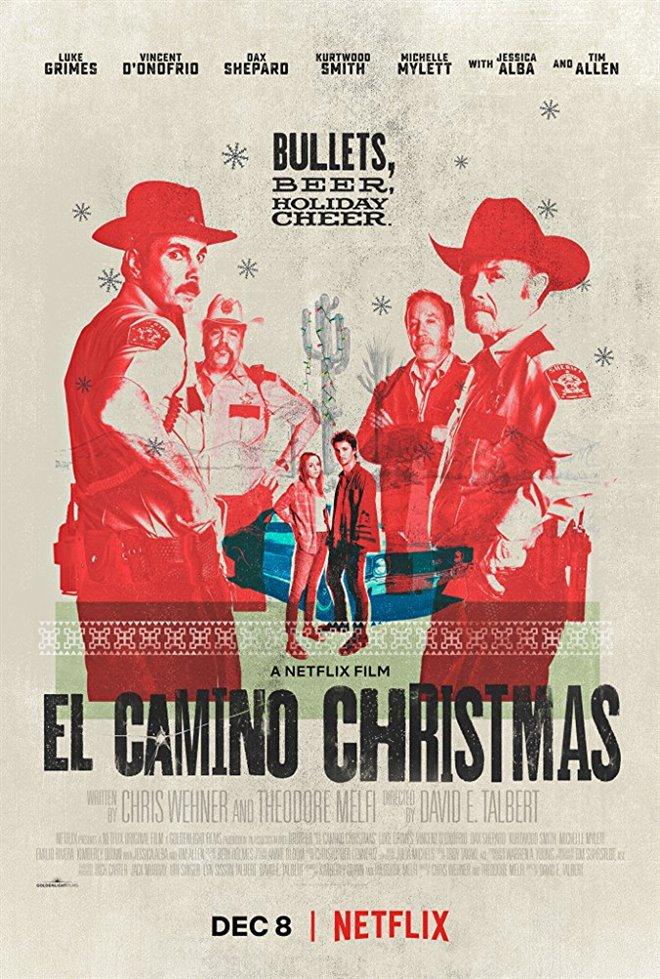 El Camino Christmas Large Poster