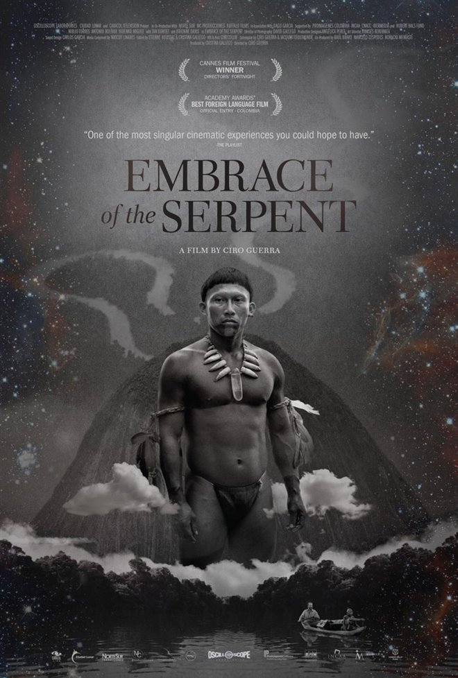 Embrace of the Serpent Large Poster