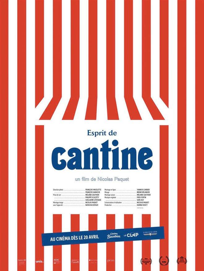 Esprit de cantine Large Poster