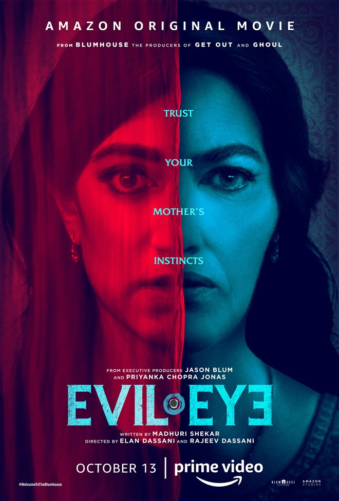 Evil Eye (Amazon Prime Video) movie large poster.