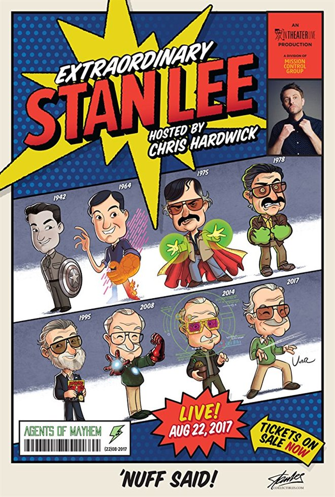 Extraordinary: Stan Lee Large Poster