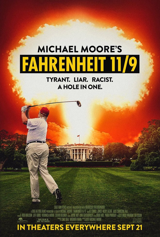 Fahrenheit 11/9 Large Poster