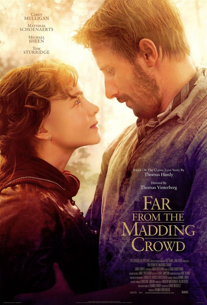 Far From the Madding Crowd Large Poster