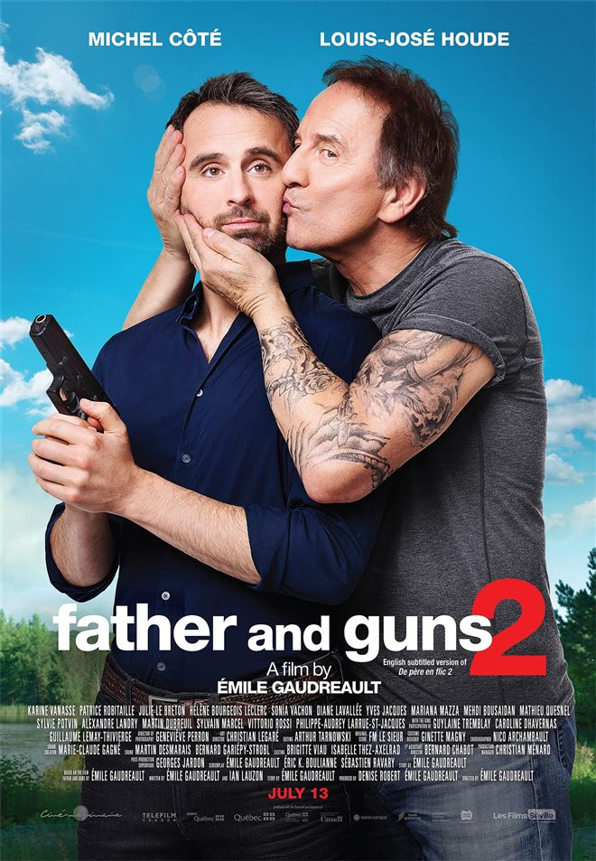 Father and Guns 2 Large Poster