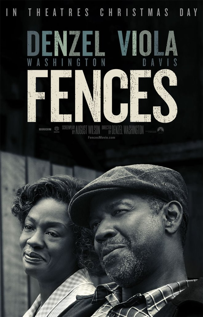 Fences Large Poster