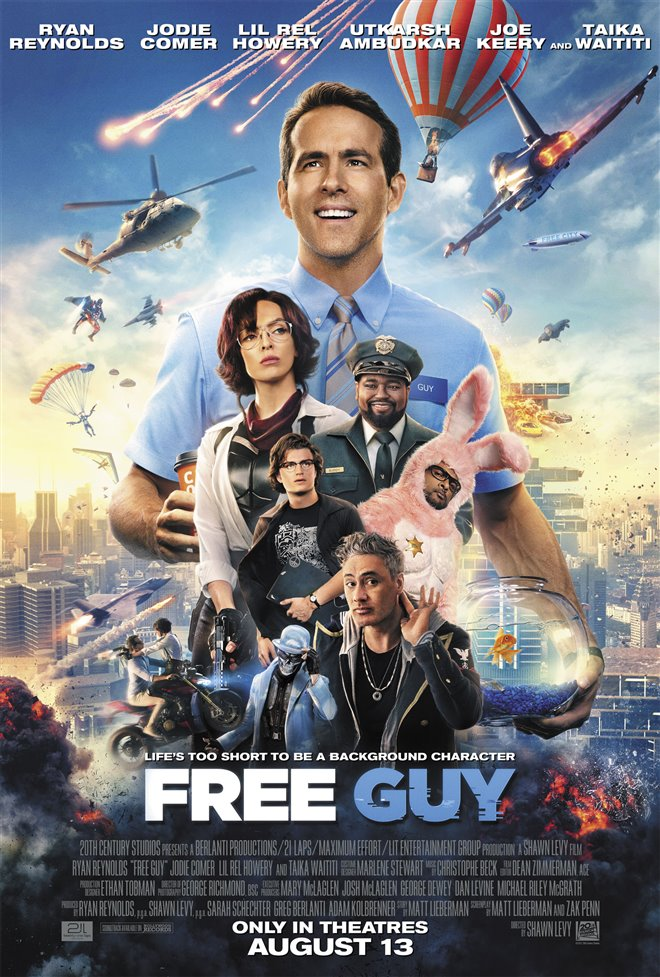 Free Guy Large Poster