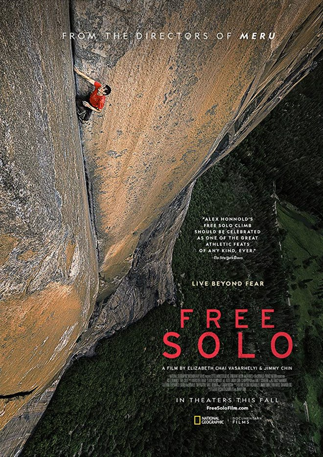 Free Solo Large Poster