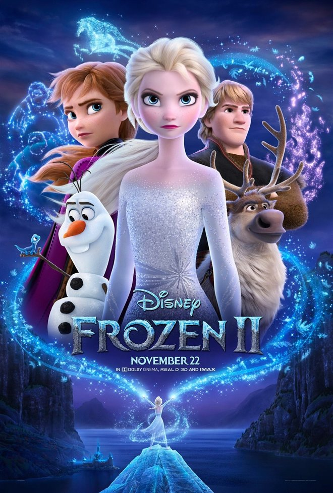 Frozen II Large Poster