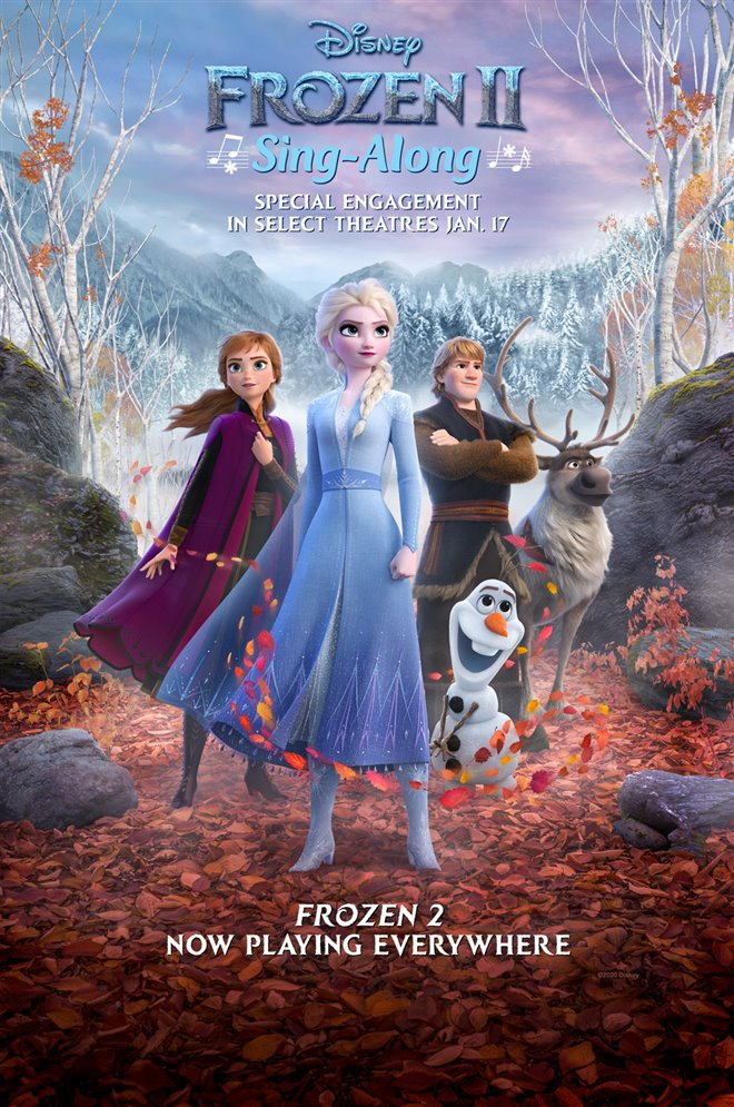 Frozen II Sing-Along Large Poster