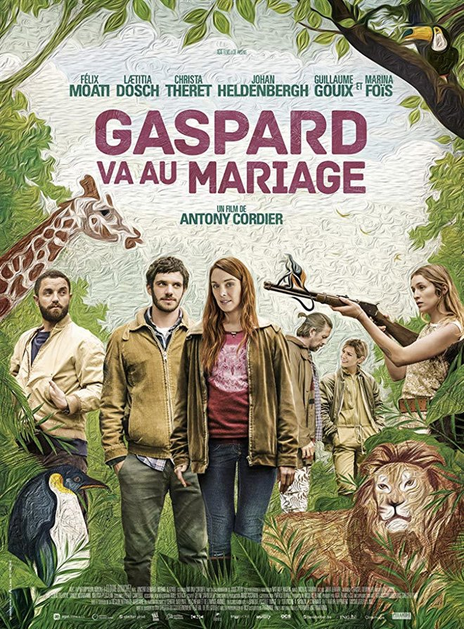 Gaspard at the Wedding Large Poster