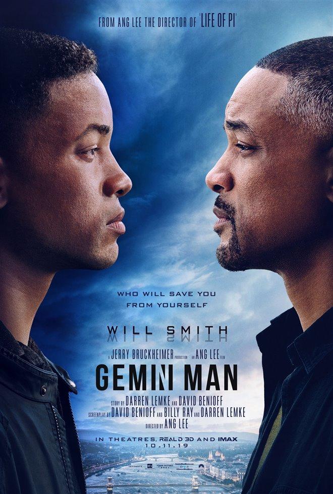 Gemini Man Large Poster