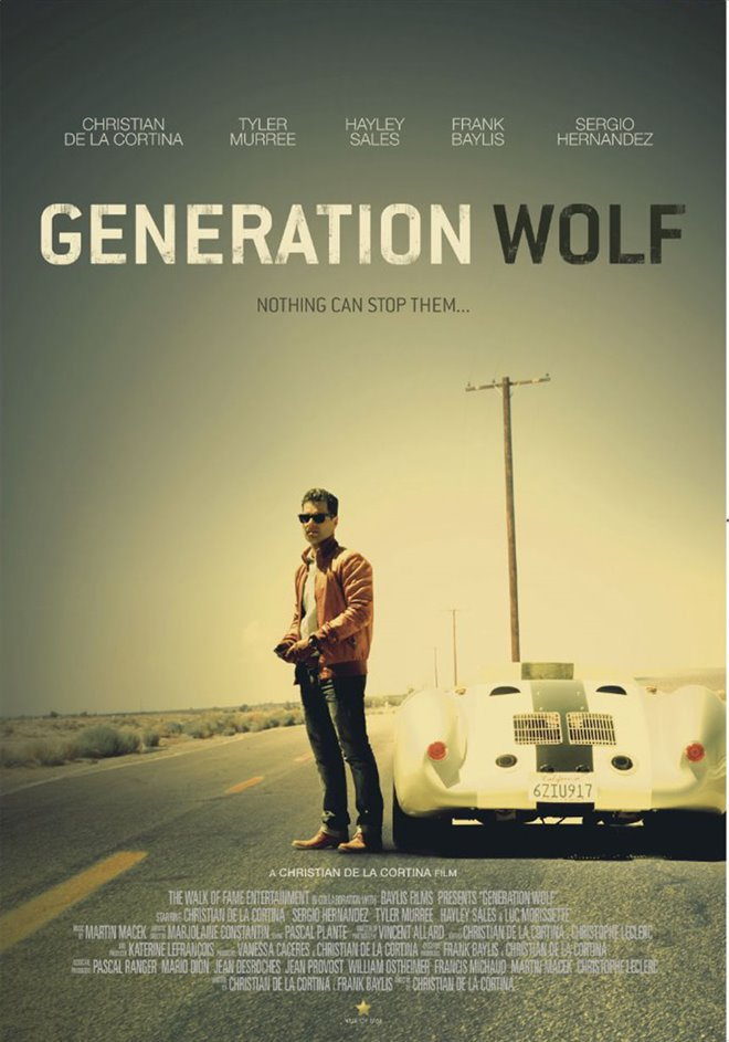 Generation Wolf Large Poster