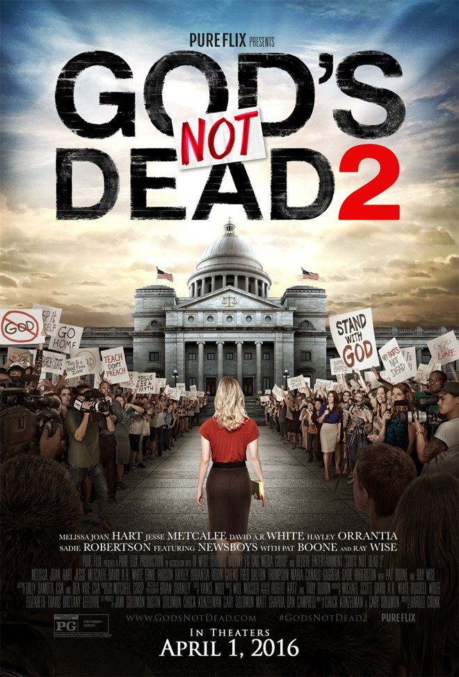 God's Not Dead 2 Large Poster