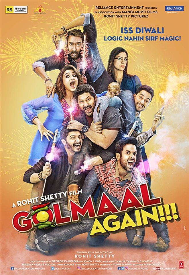 Golmaal Again Large Poster