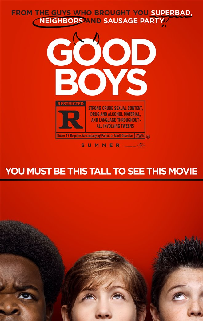 Good Boys Large Poster