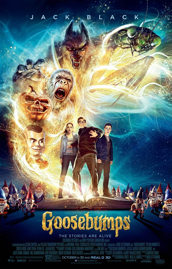 Goosebumps Large Poster