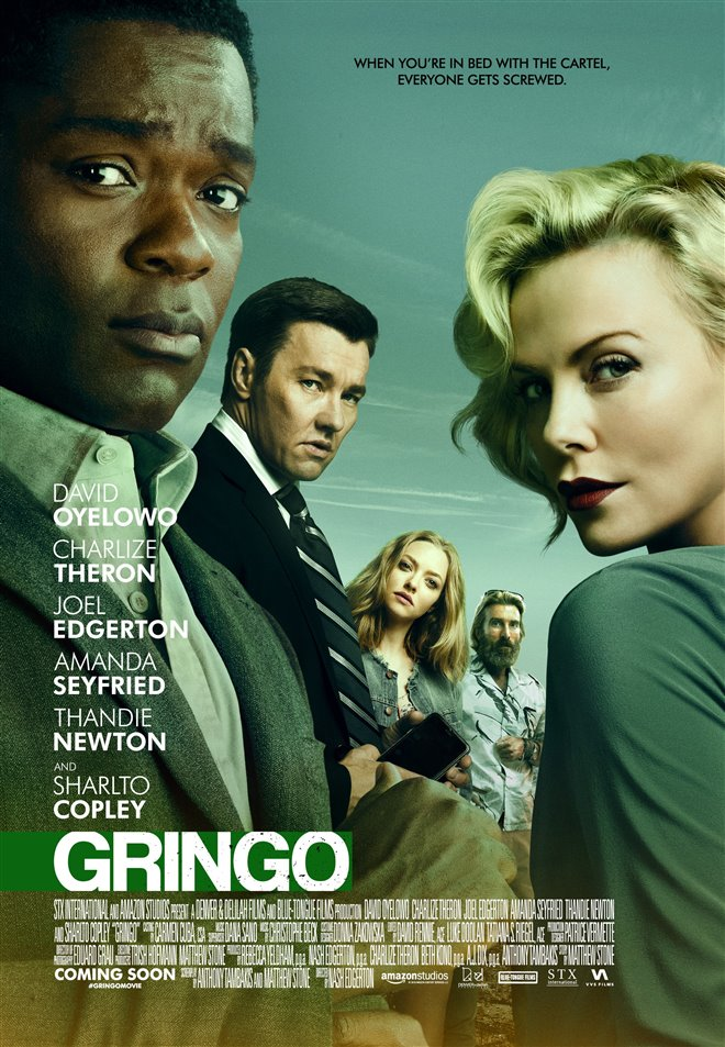 gringo movie large poster