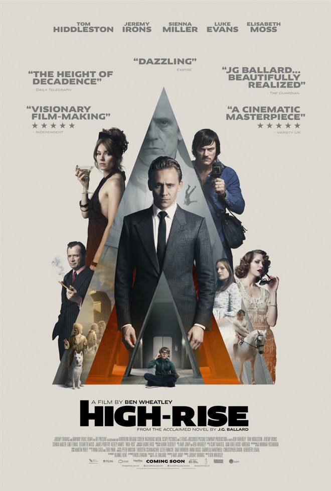 High-Rise Large Poster