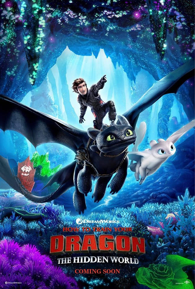 How to Train Your Dragon: The Hidden World Large Poster