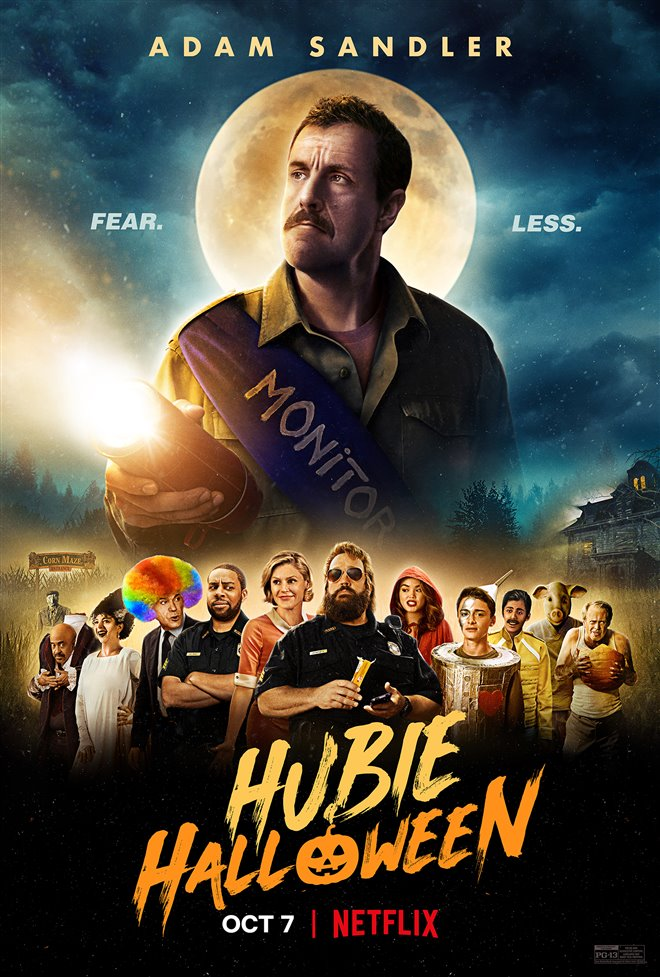 Hubie Halloween (Netflix) Large Poster