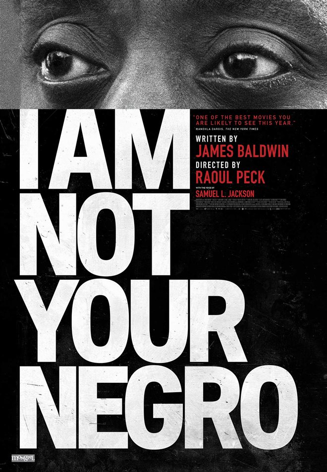 I Am Not Your Negro Large Poster