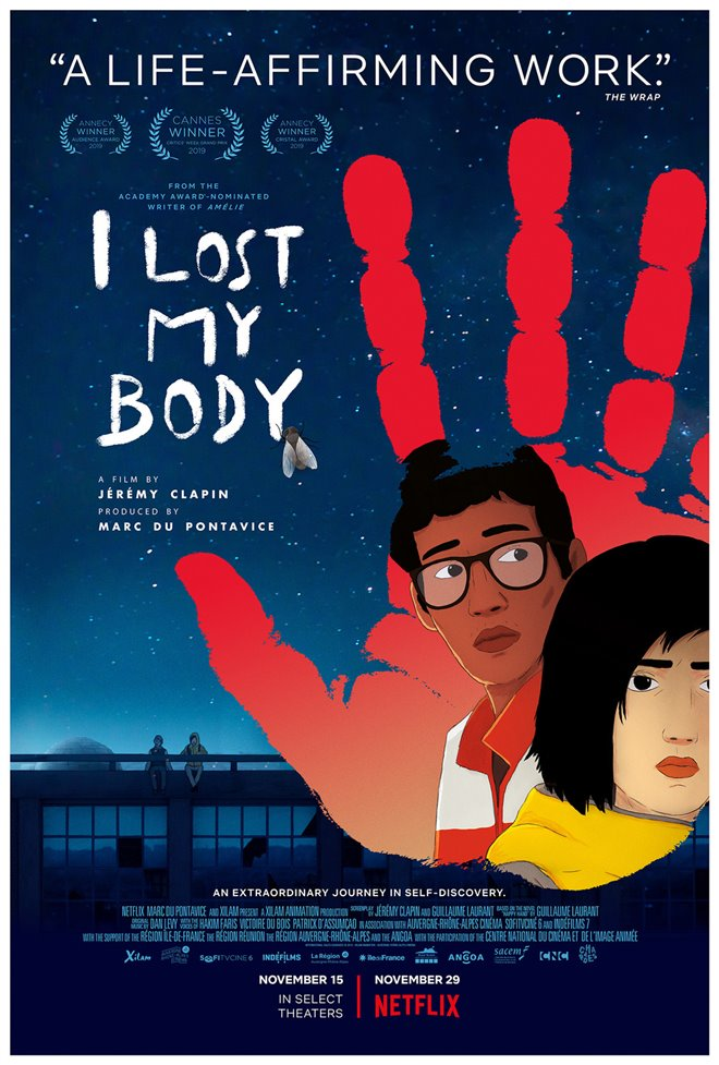 I Lost My Body Large Poster