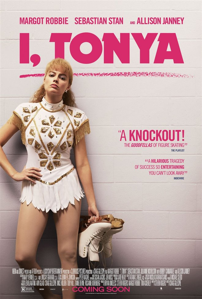 I, Tonya Large Poster