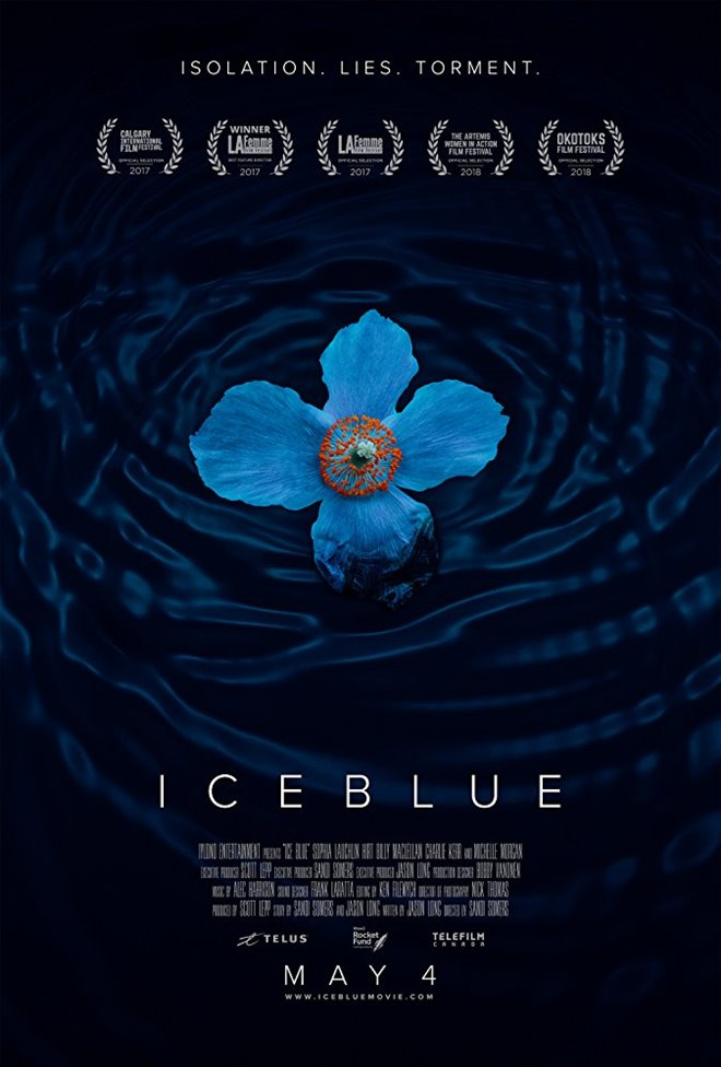 Ice Blue Large Poster