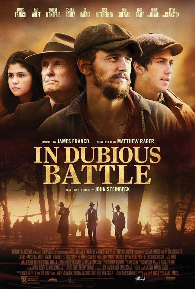In Dubious Battle Large Poster