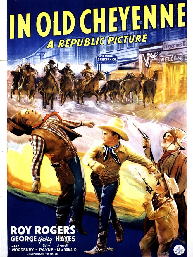 In Old Cheyenne Large Poster